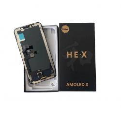 iPhone X OLED LCD displej HEX